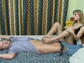 Diana&Adrian lustful nylon soles tweak