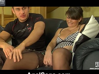 Gertie&Govard kinky anal clip