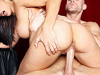 Brazzers is raising cash for charity and so far things aren't going well. Rachel and Johnny take it upon themselves to make the donors call in to pledge high sums of specie. Rachel shows her boobs and Johnny unveils his huge penis, those two stars perform in front of callers and the cash starts to rain.