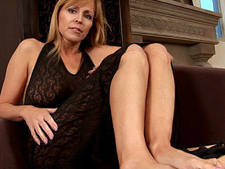 Nicole moore explores her erogenous zones relative to her talented mama i'd like to fuck fingers
