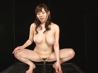 This is something you will enjoy very much because Azusa, a pretty nippon milf with pink juicy lips, big breasts and hawt thighs is willing to show her amazing anal insertion skills. Using a big fake penis attached on the table Azusa, with a smile on her face, stuffs her anus and shows us what we want to see