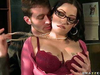 Office Sex With Big Titted Boss Assistant Daisy Cr