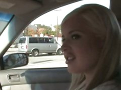 Andi Anderson blonde babe picked up by black dude