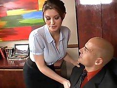 secretary tube porn